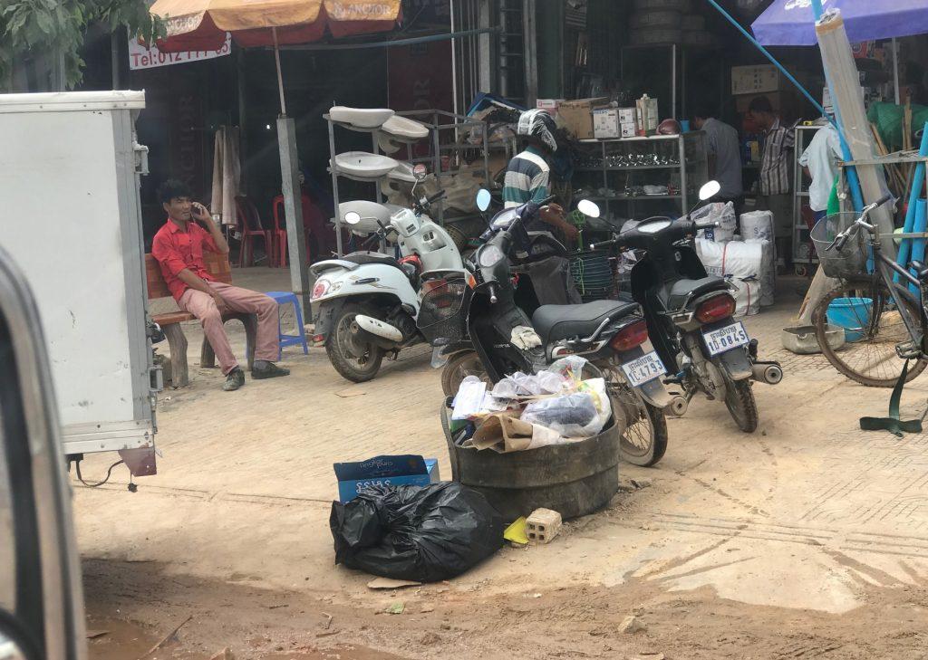 カンボジアのシアヌークビル