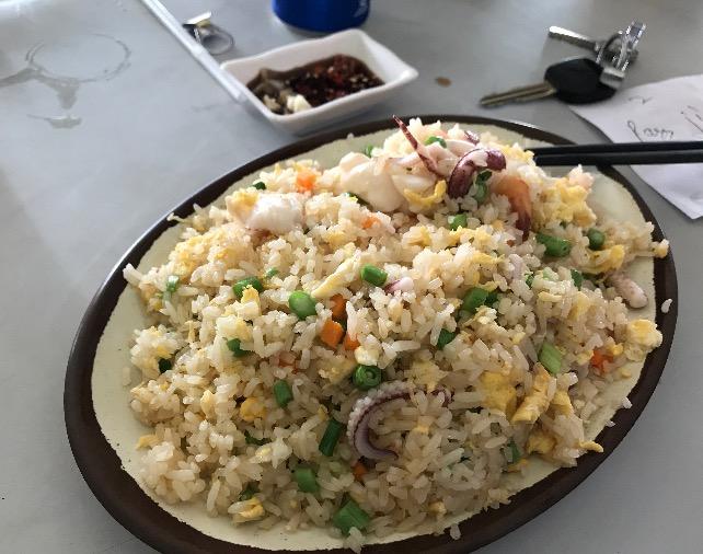 カンボジアのシアヌークビルにあるレストラン