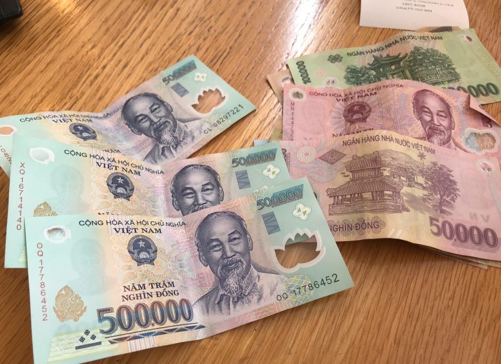 ベトナム通貨のドン