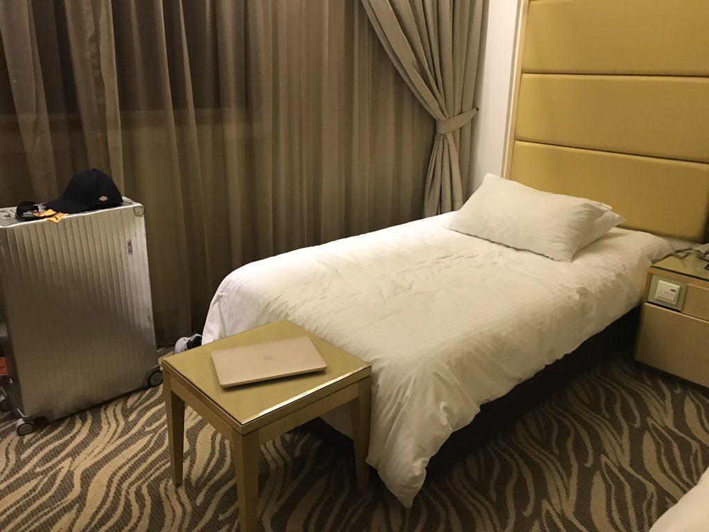 シンガポールミラマーホテル客室