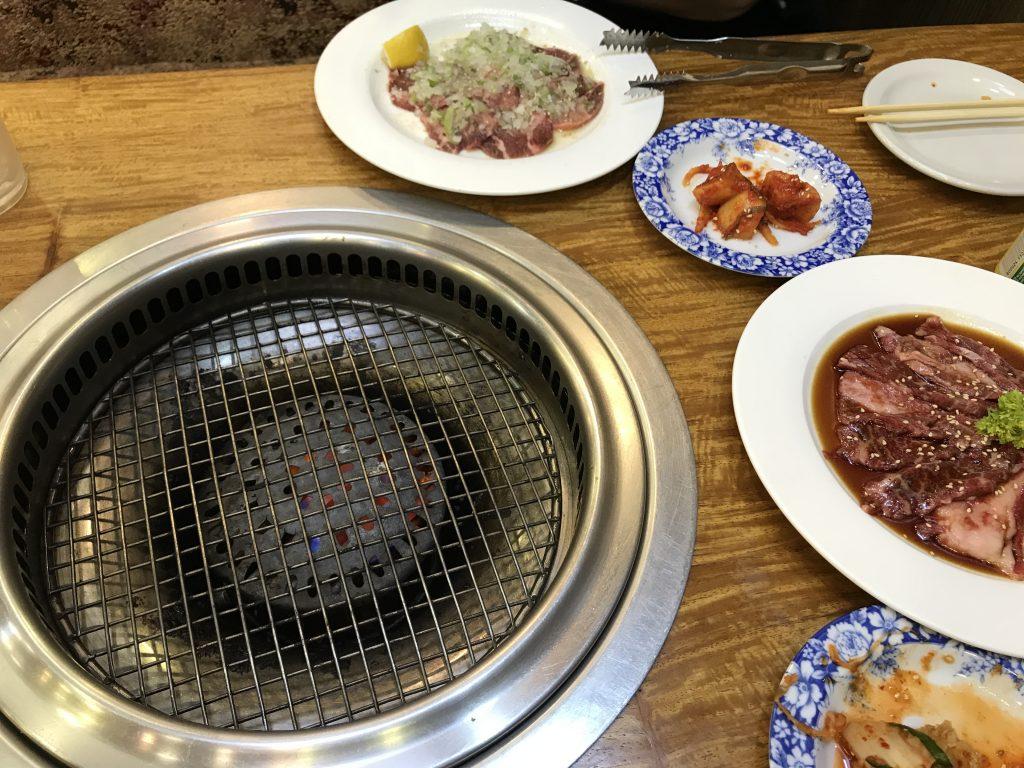 マテラ地区の焼き肉屋南山