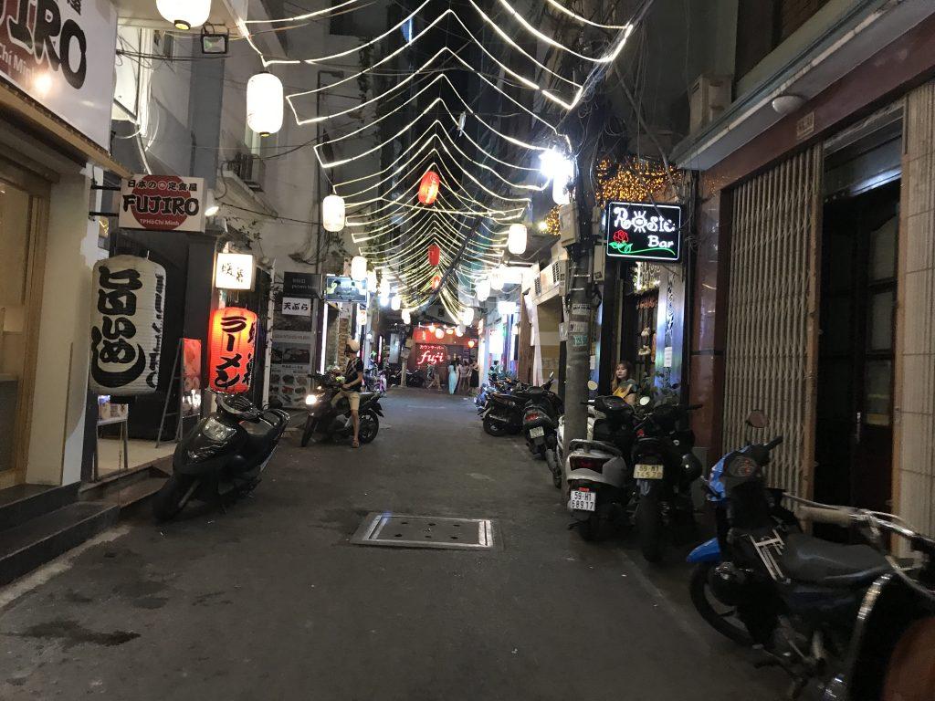 ホーチミンの日本人街