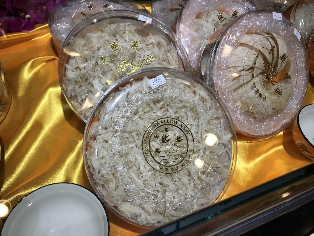 マレーシアで食べたツバメの巣