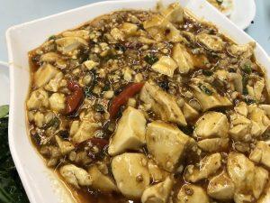 香港で食べた麻婆豆腐