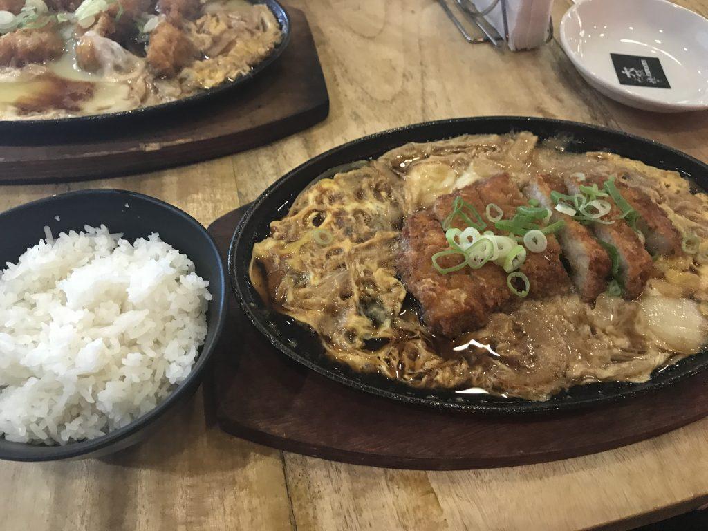 フィリピンのプエルトプリンセサ内にある日本食屋さん