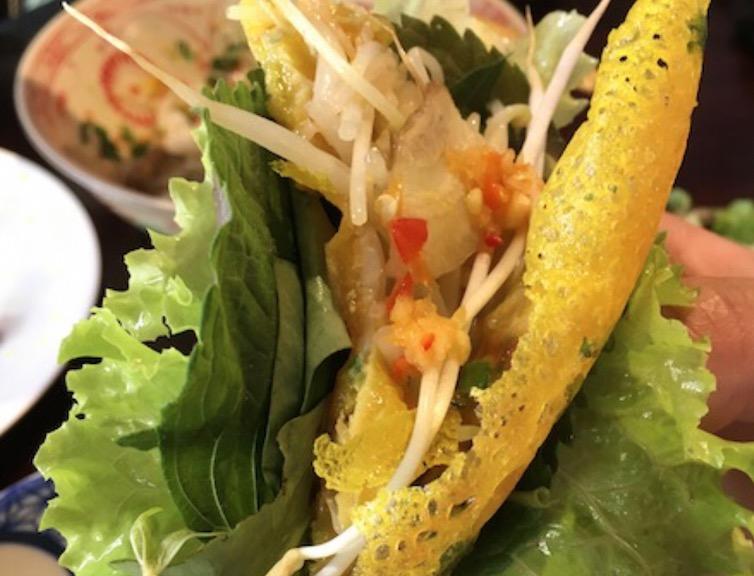 ベトナムのハロン湾で食べた生春巻き