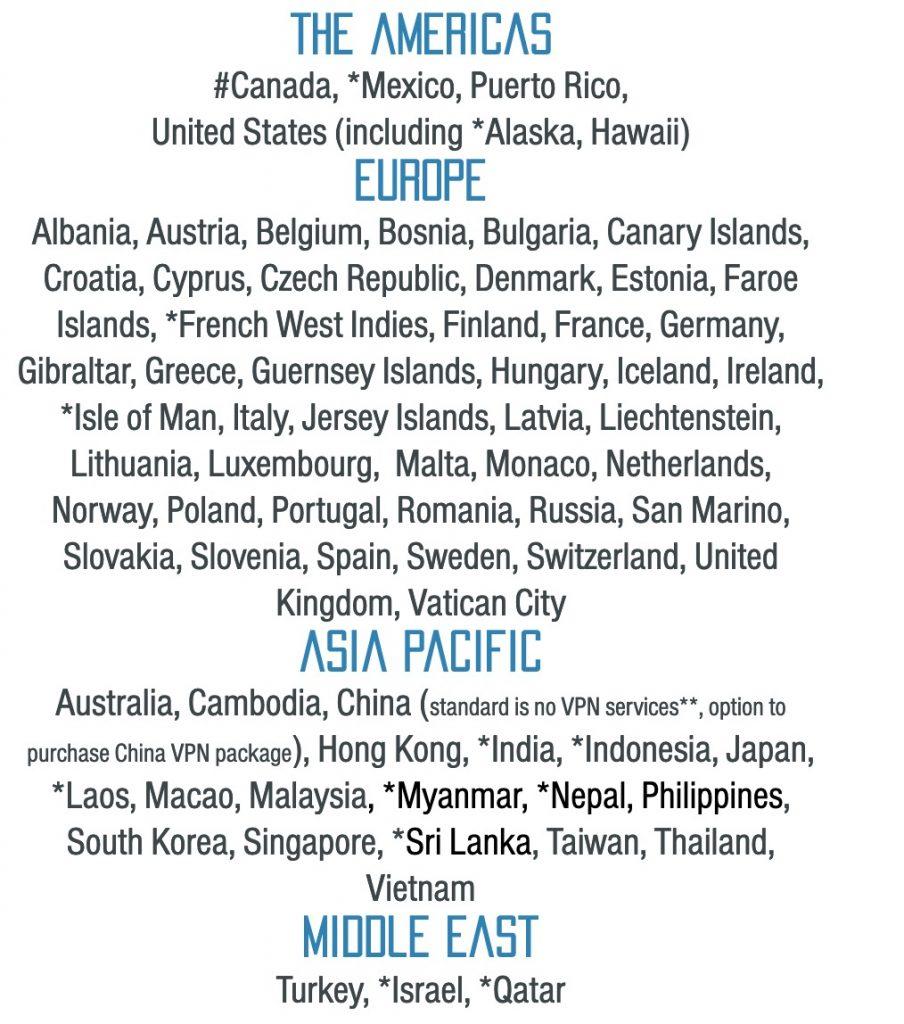 pokefiの使える国や使えない国