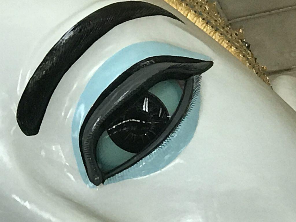 ヤンゴンのチャウタッジー・パゴダにある寝釈迦仏