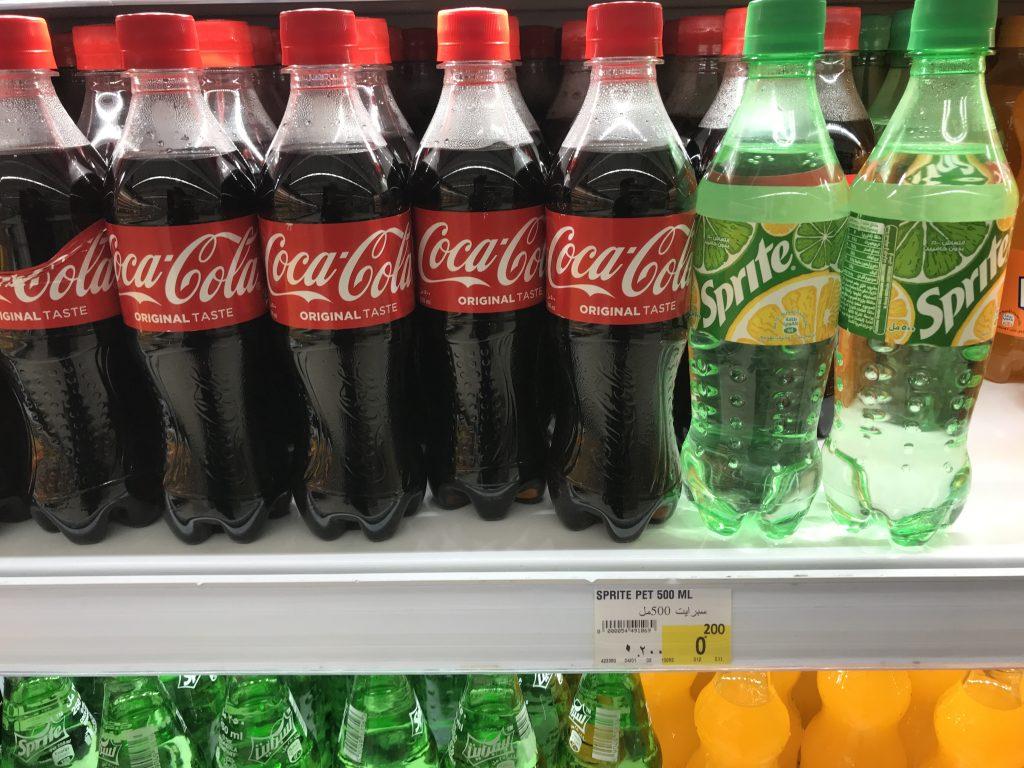 500ミリのコーラ