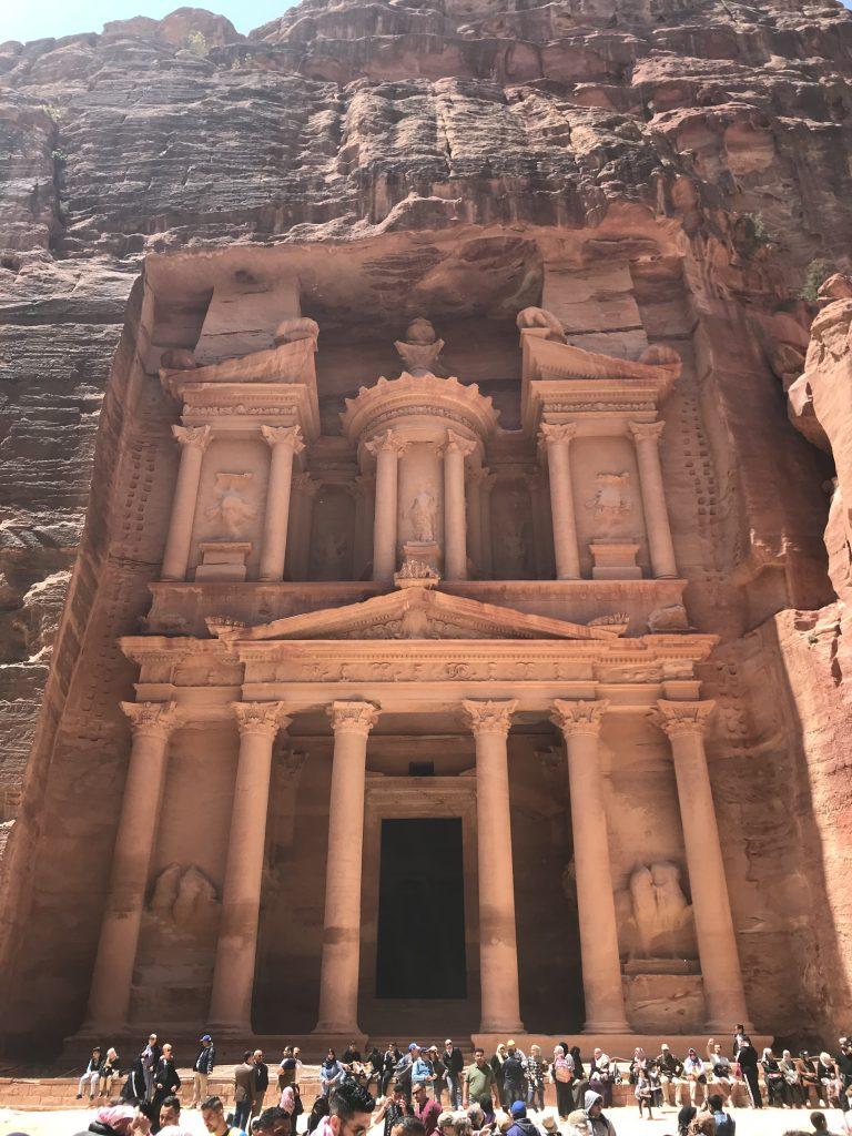 ヨルダンのペトラ遺跡