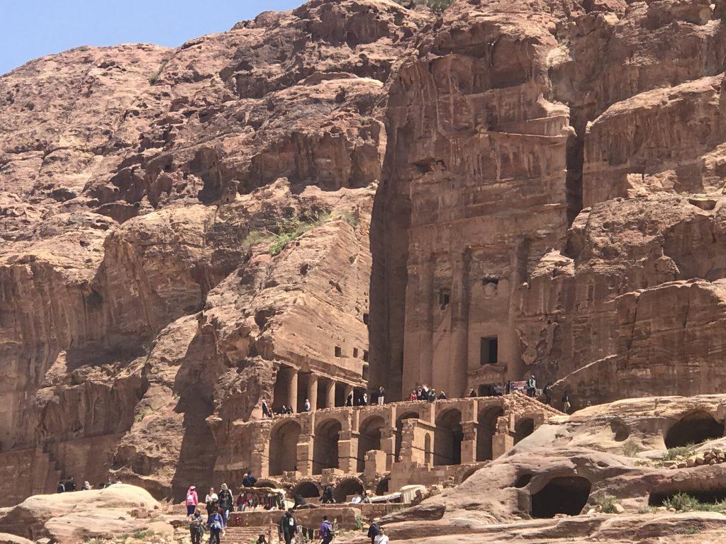 ヨルダンペトラ遺跡の王家の墓