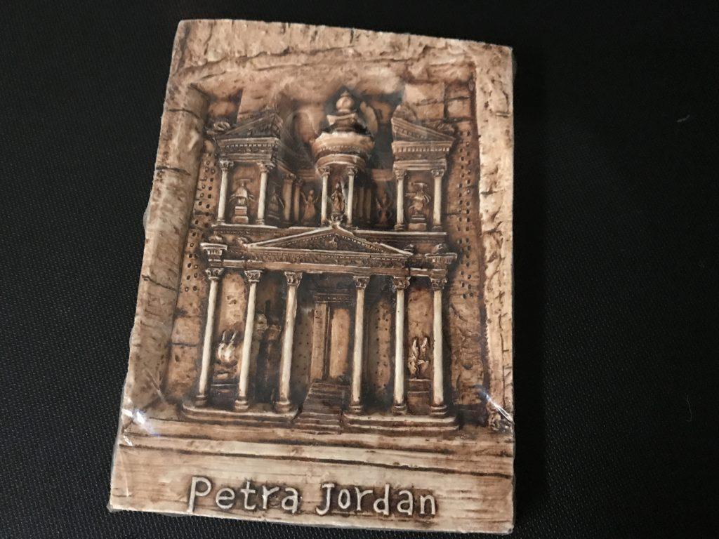 ペトラ遺跡の額