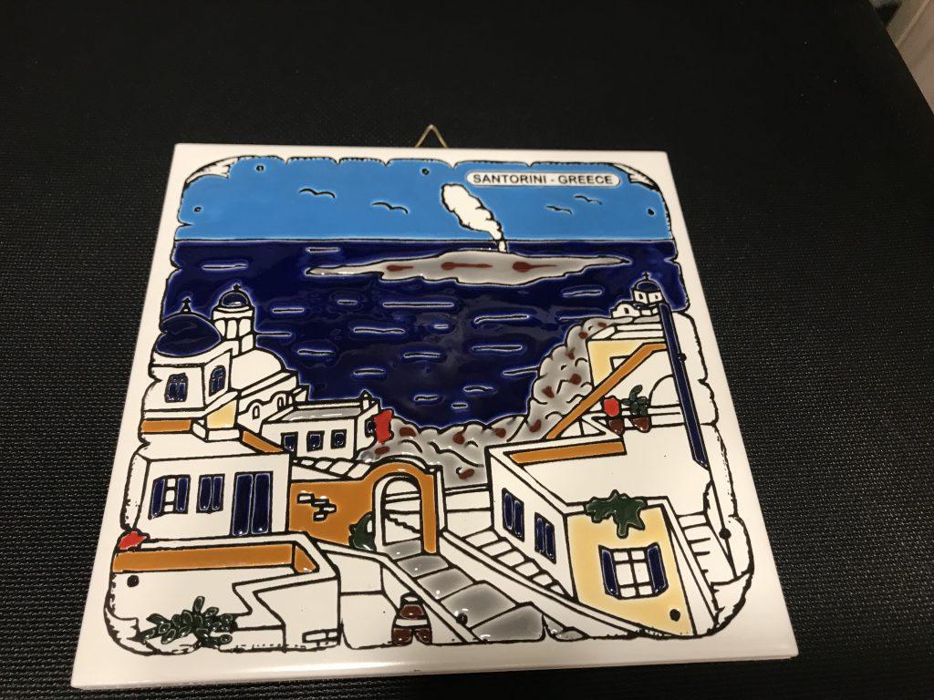 サントリーニ島でのお土産