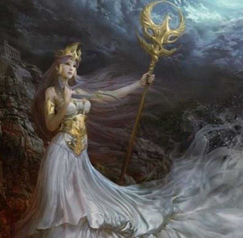 ギリシャ神話の女神アテーナー