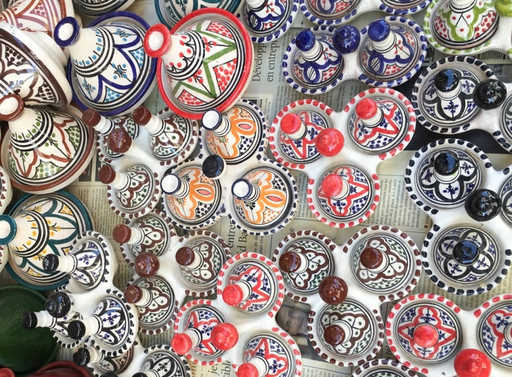 モロッコカサブランカのお土産タジン鍋
