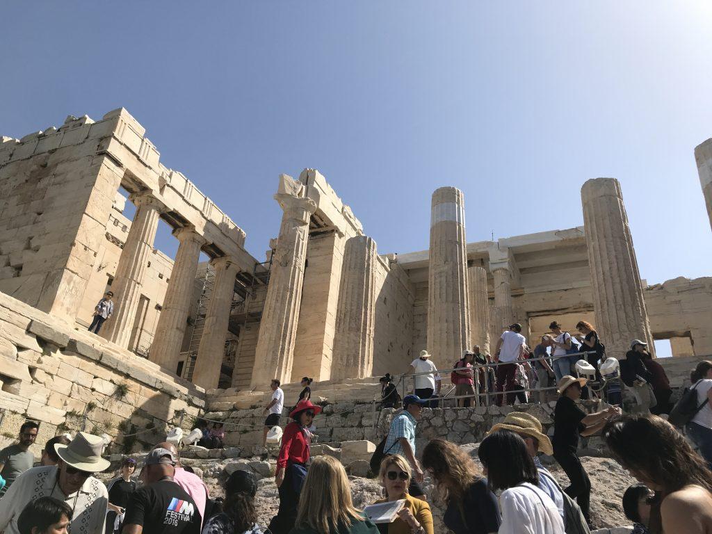 ギリシャのアクロポリスにあるプロペリア門