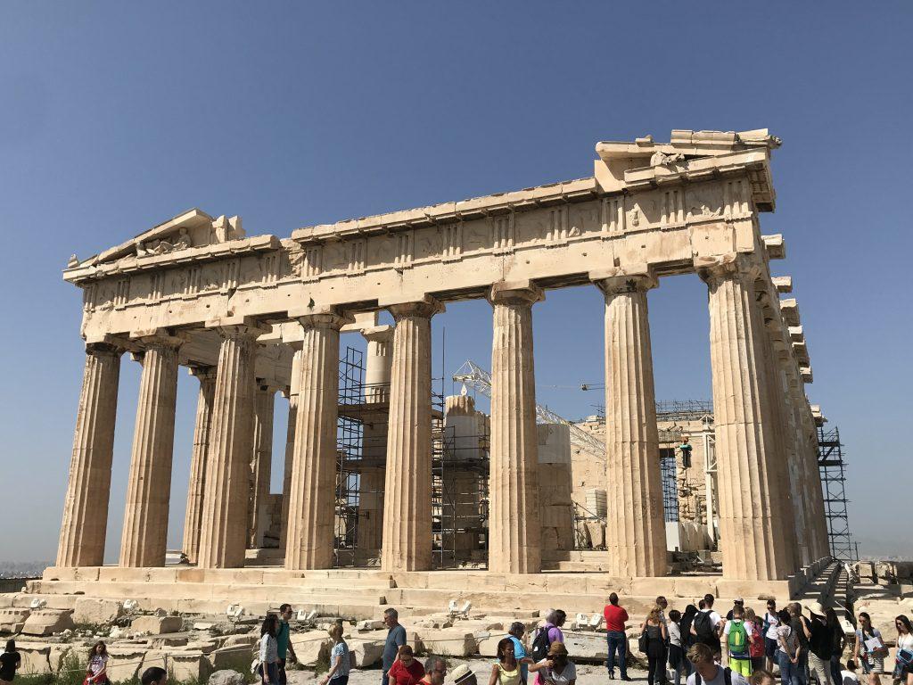 アテネのパルテノン神殿