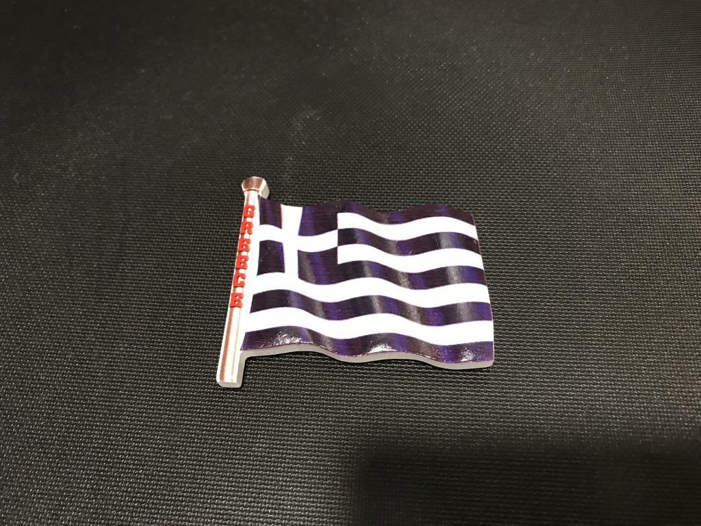 ギリシャの国旗マグネット