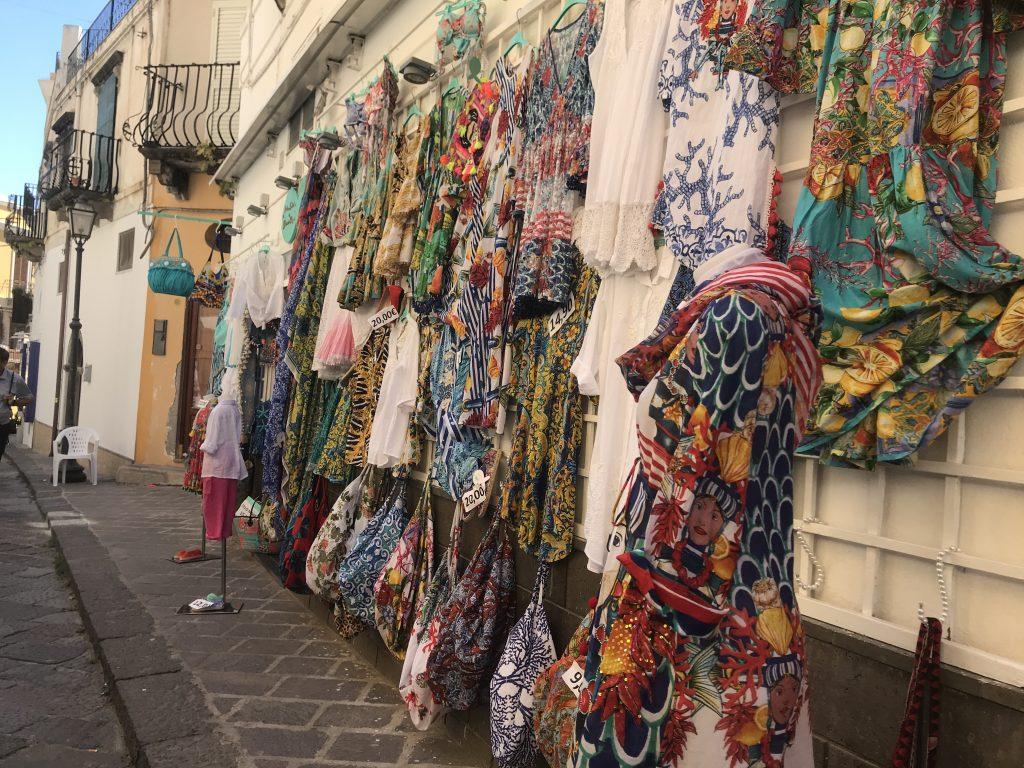 リパリ島のお店