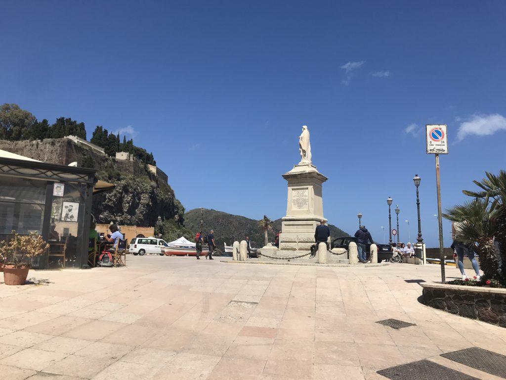 世界遺産イタリアのリパリ島