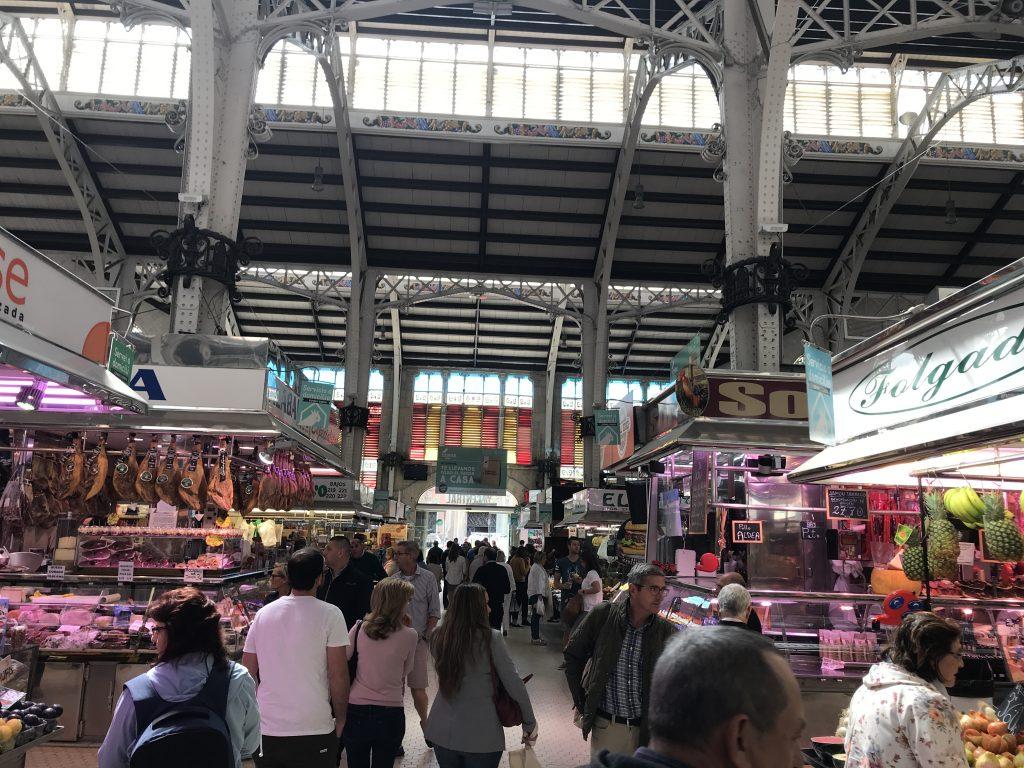 スペインバレンシア市場
