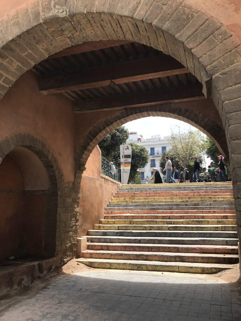 モロッコカサブランカのメディナ入り口