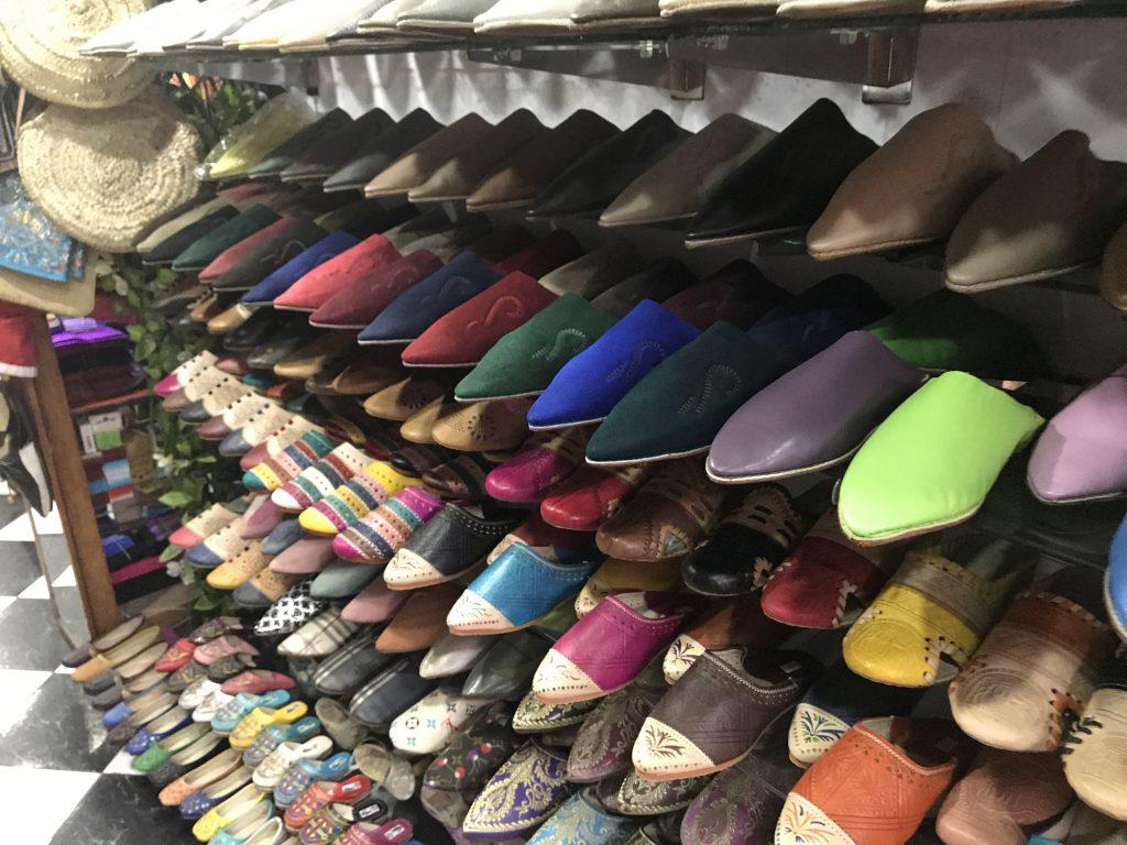 モロッコのおすすめお土産バブーシュ