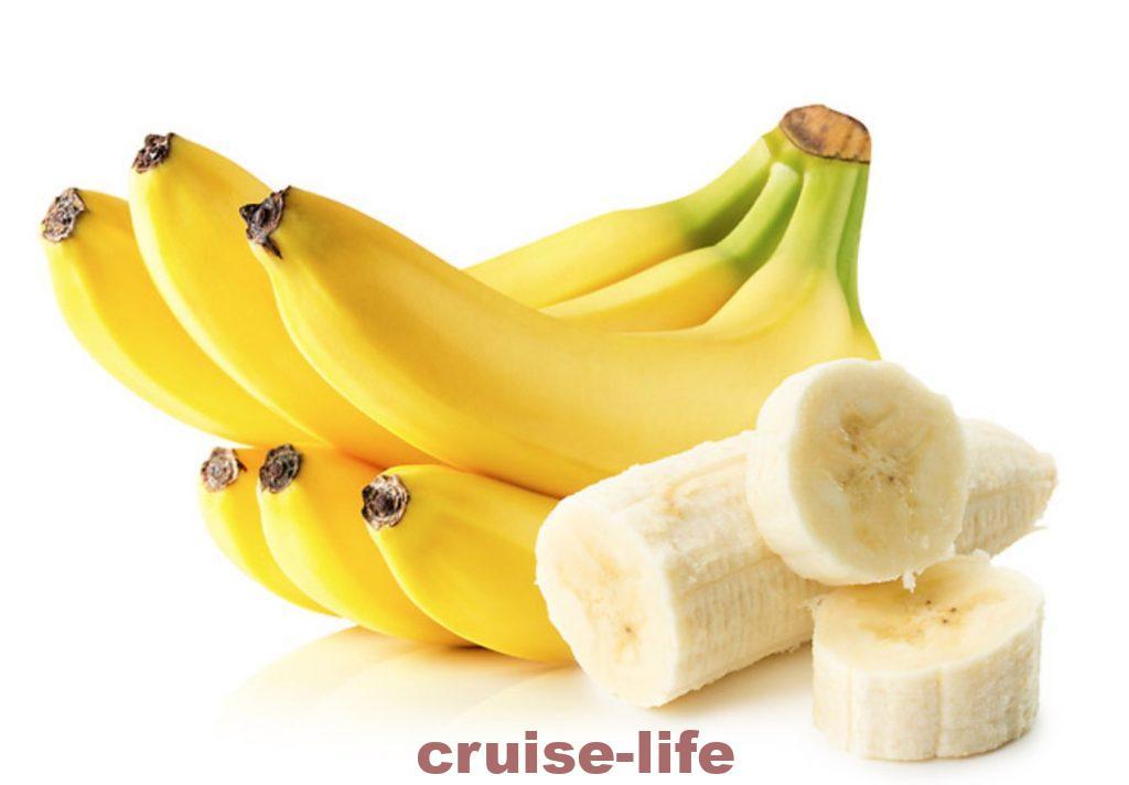 豪華客船クルーのバナナ