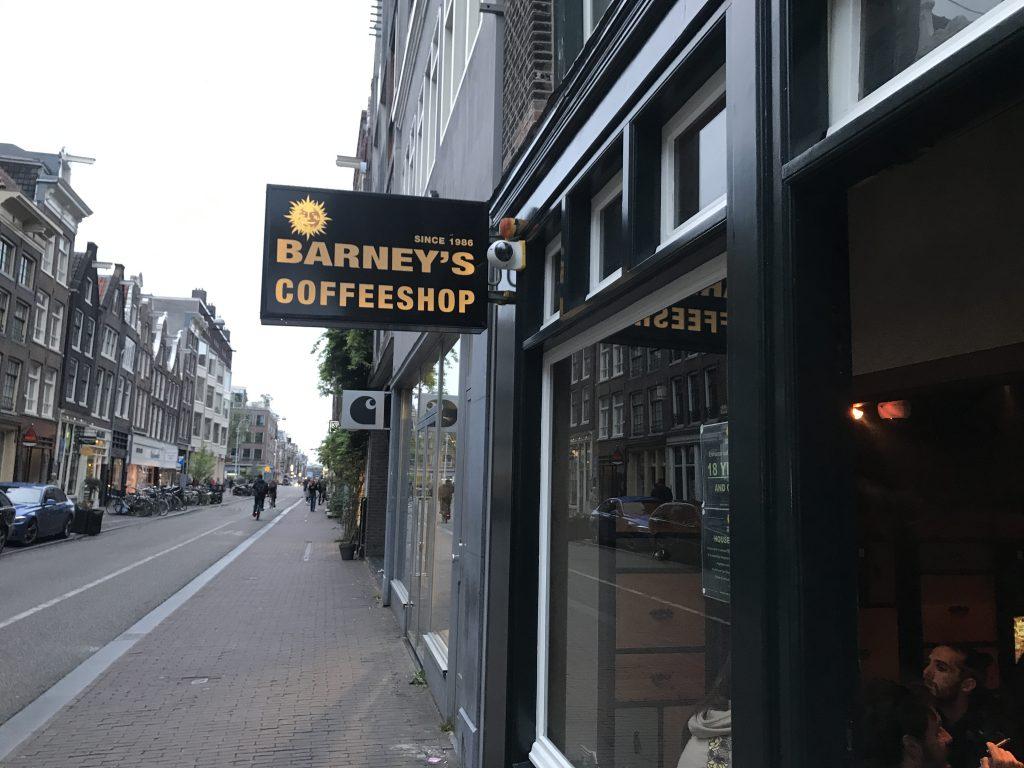 アムステルダムの有名コーヒーショップ