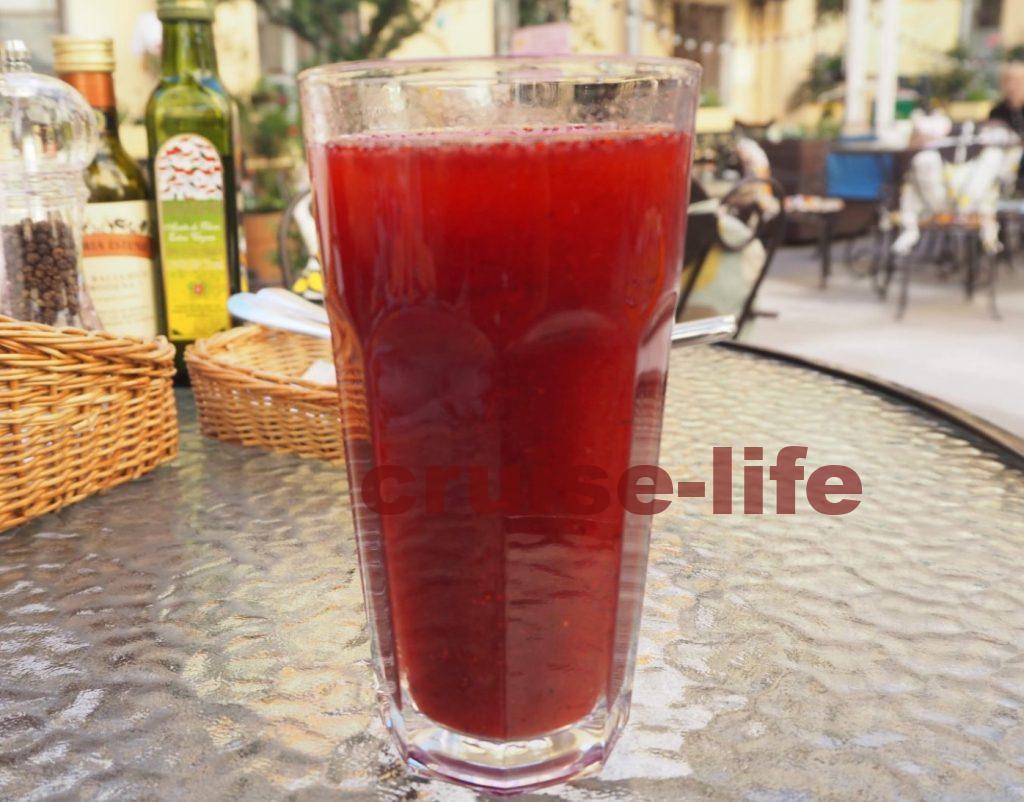 ロシアのモルスという飲み物