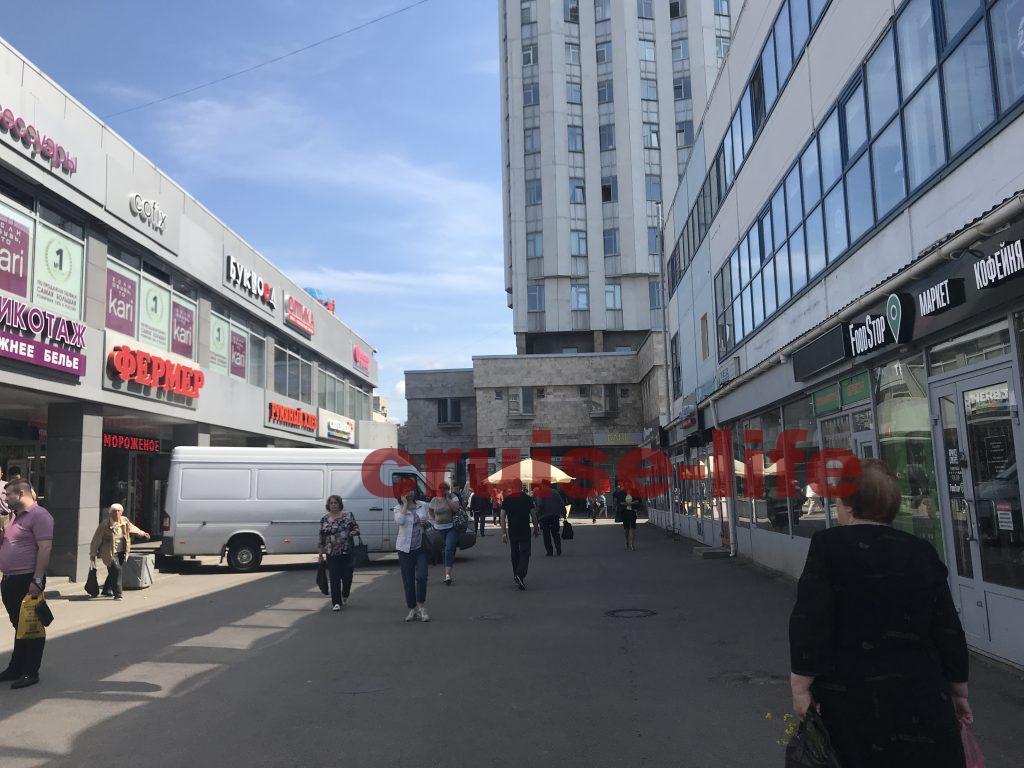 ロシアのローカル駅周辺