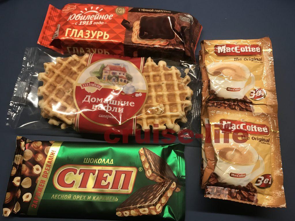 ロシアのお菓子達