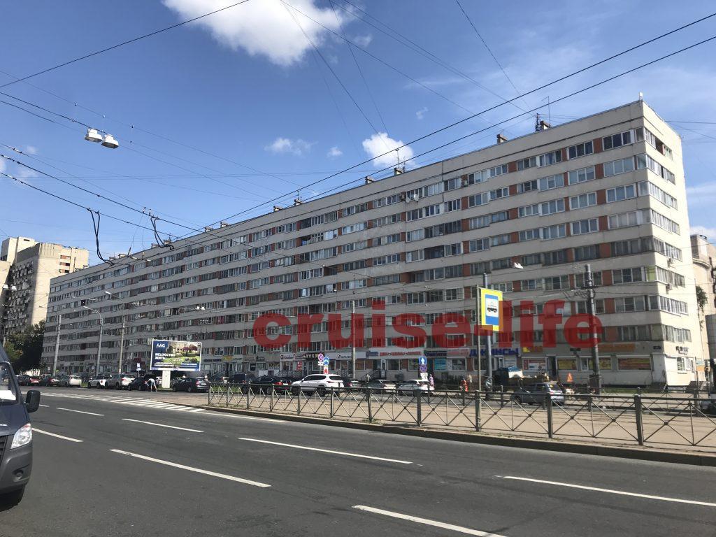 ロシアのローカルな街並み