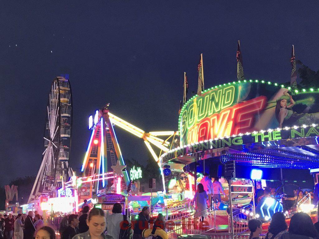 オーストラリアのお祭り風景