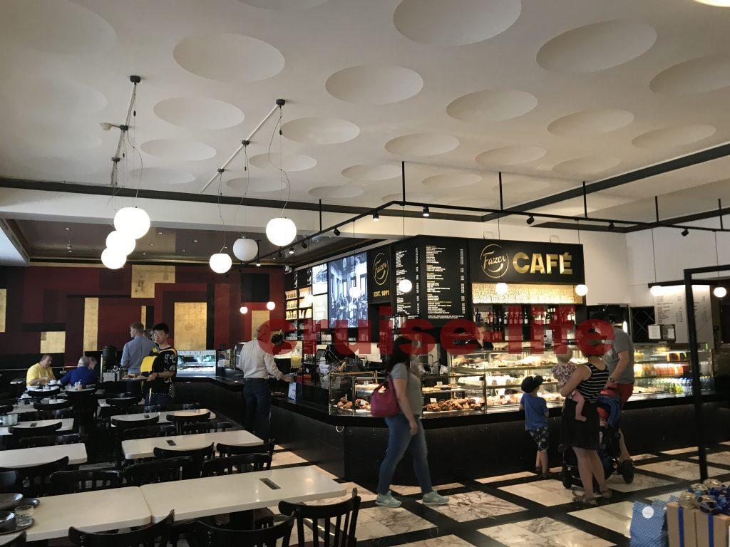 ヘルシンキおすすめカフェfazer cafe
