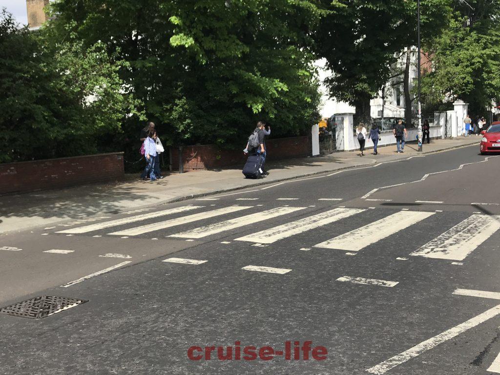ロンドンのアビーロード・ビートルズ