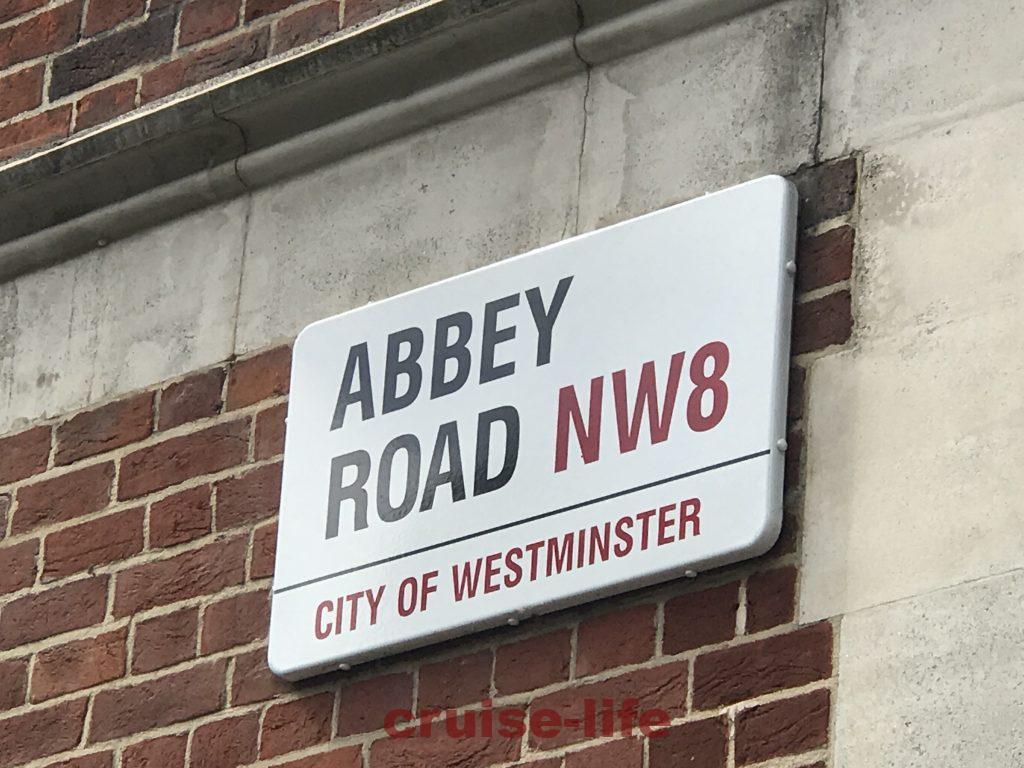 アビーロードのストリートサイン