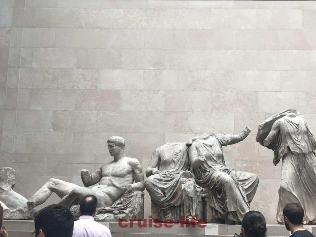パルテノン神殿破風の部分