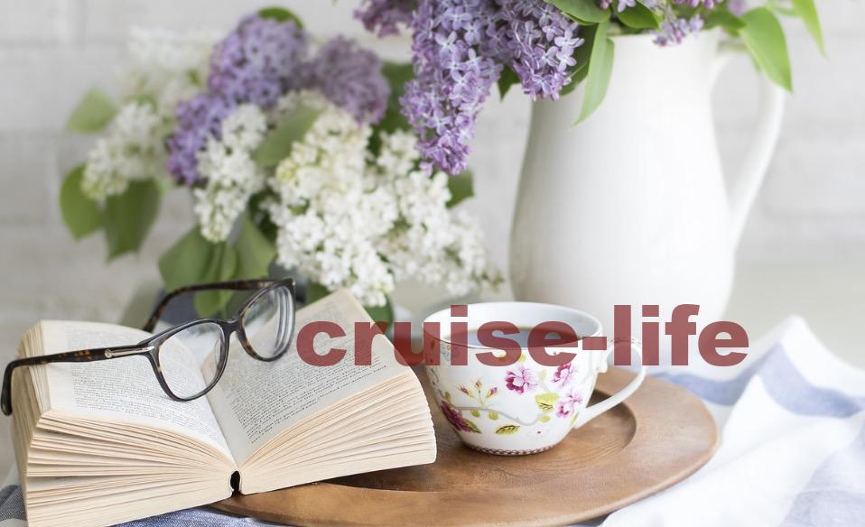 客船航海日のリラックス時間
