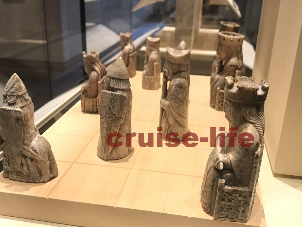 スコットランド国立博物館のルイス島のチェス駒