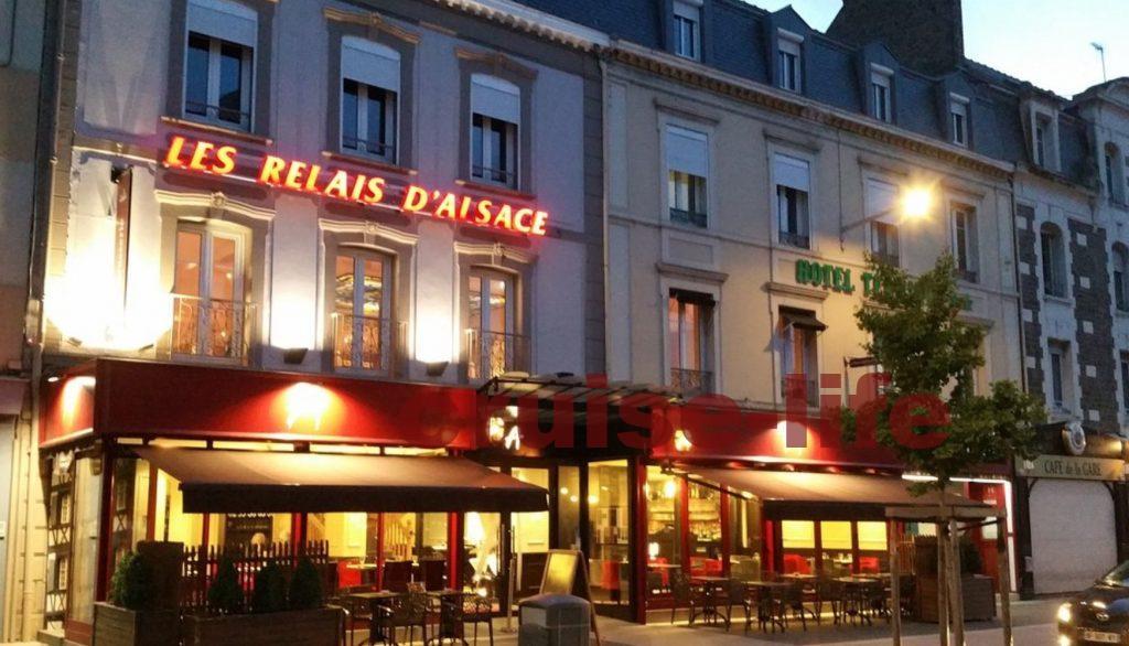 フランス・サンマロのレストラン