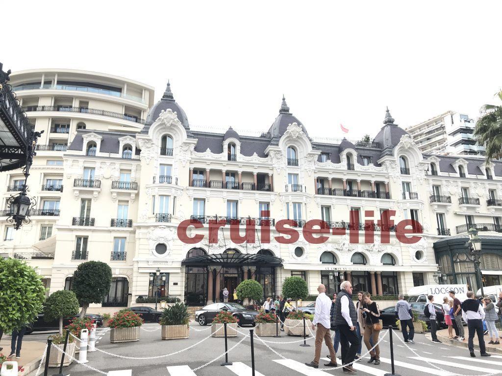 モナコのホテルデパリス