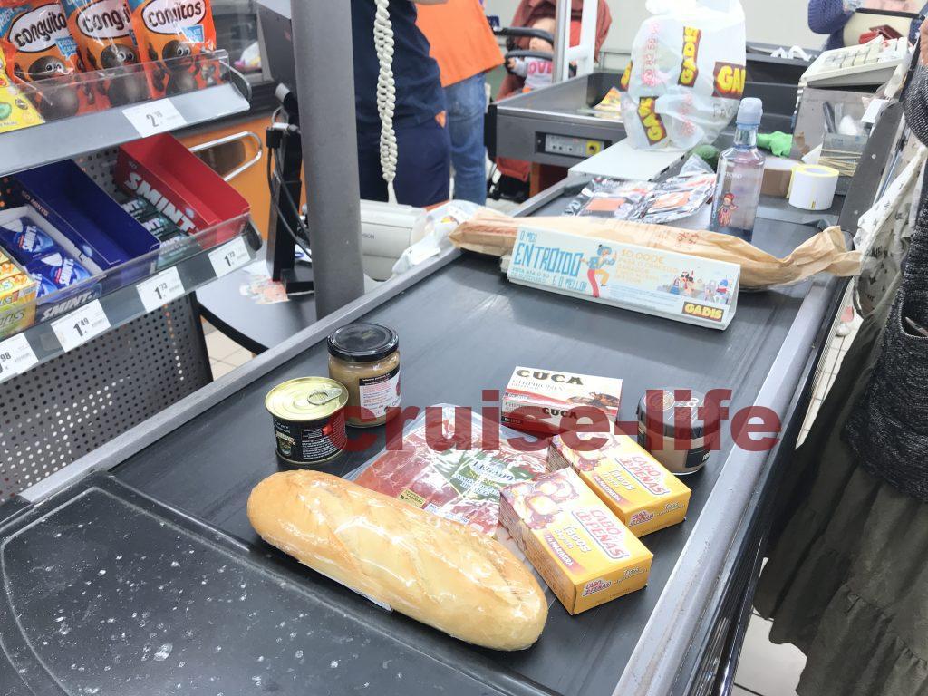 フランスのスーパーのレジ