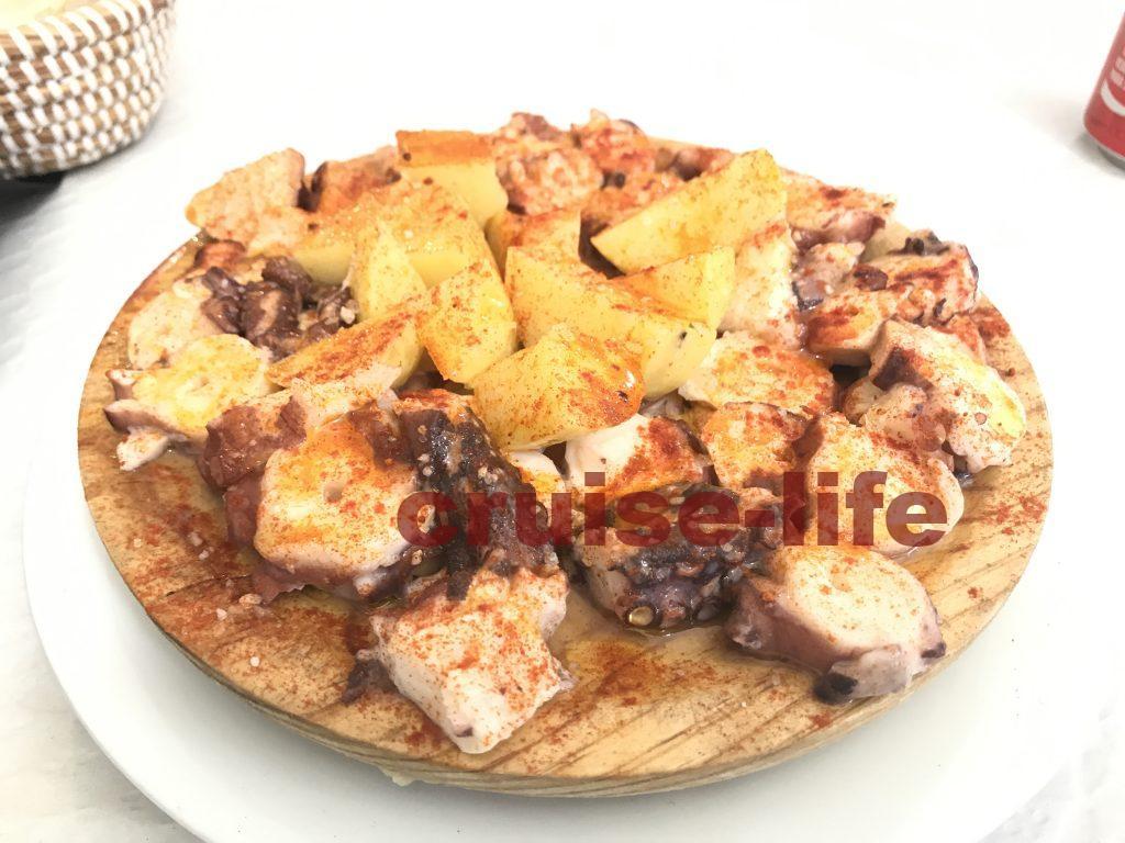 スペイン・ビーゴのタコアヒージョガリシア風