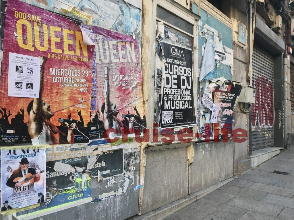 スペイン・ビーゴの街の雰囲気