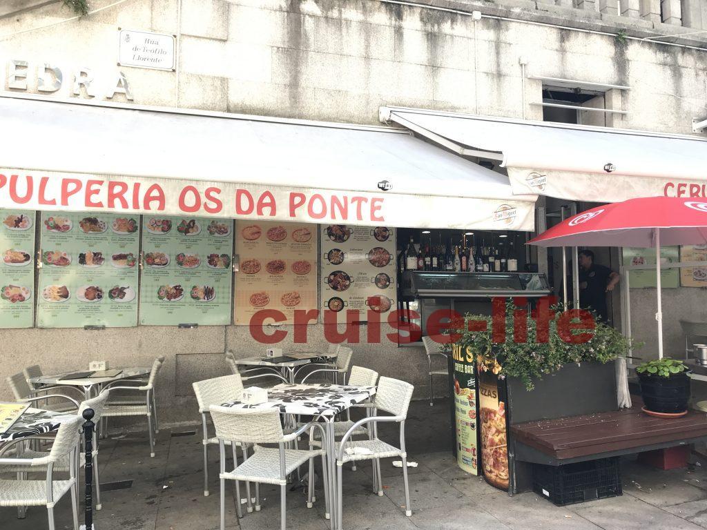 スペイン・ビーゴの港周辺のレストラン