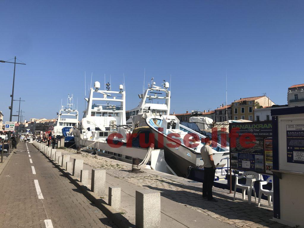 フランス・セートの漁船