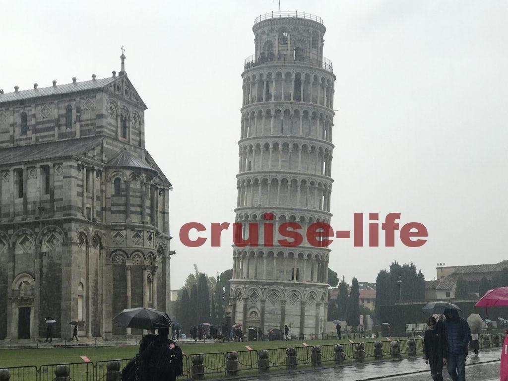 ピサの斜塔への行き方