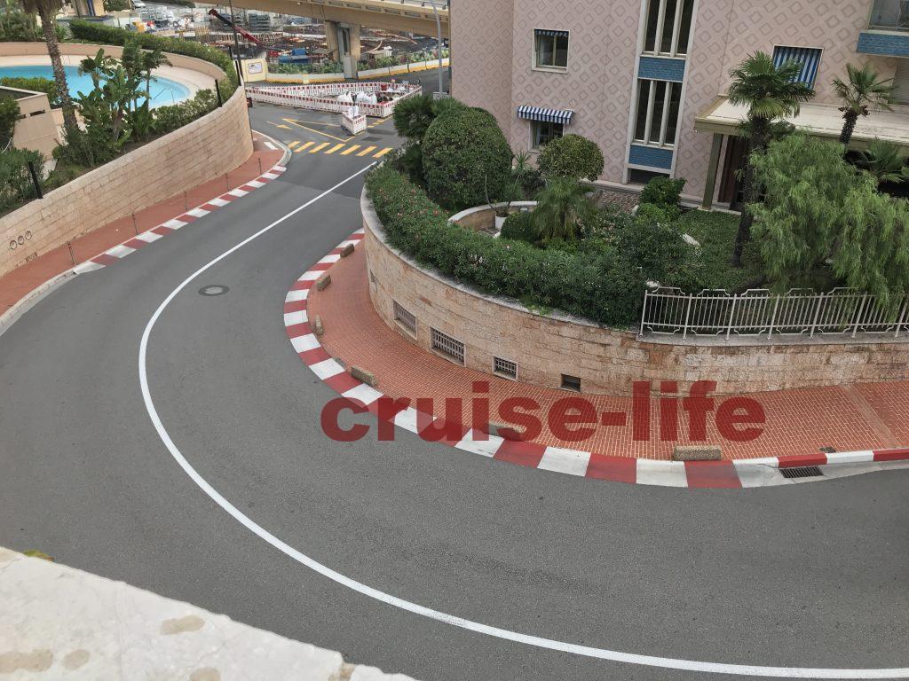 モナコの有名なF1コース