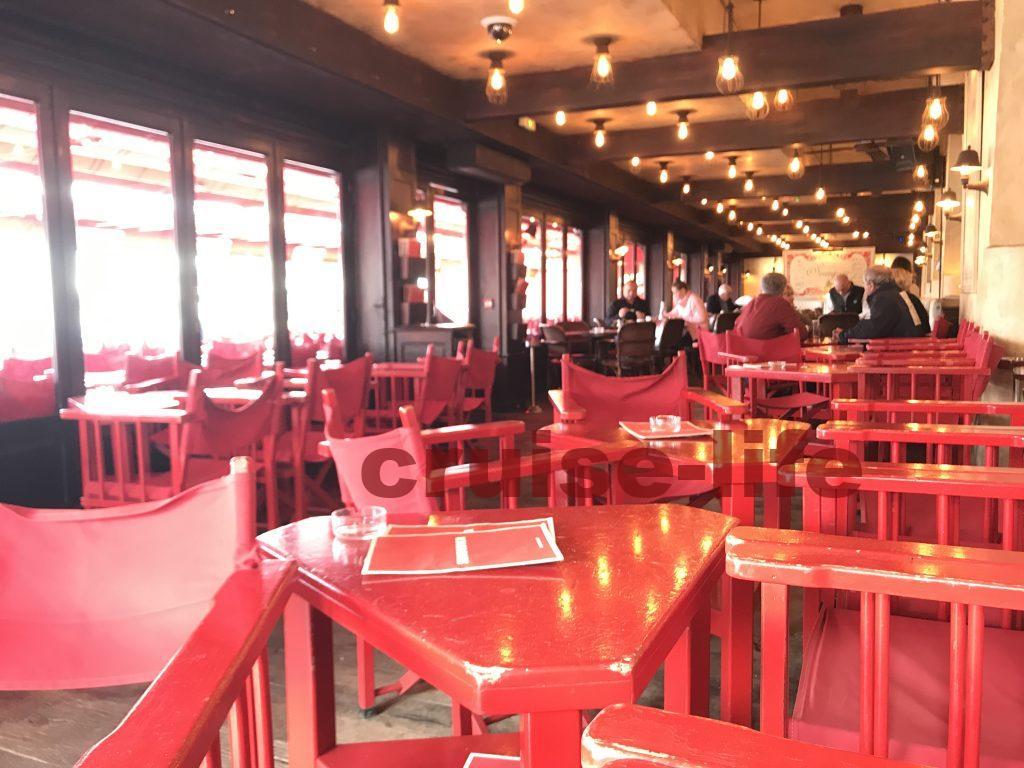 サントロペのおすすめカフェ・senequier
